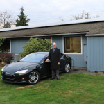 Kenneth G. Johnsen & His TESLA Model S