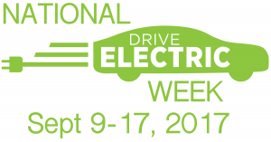 Logo for National Drive Electric Week