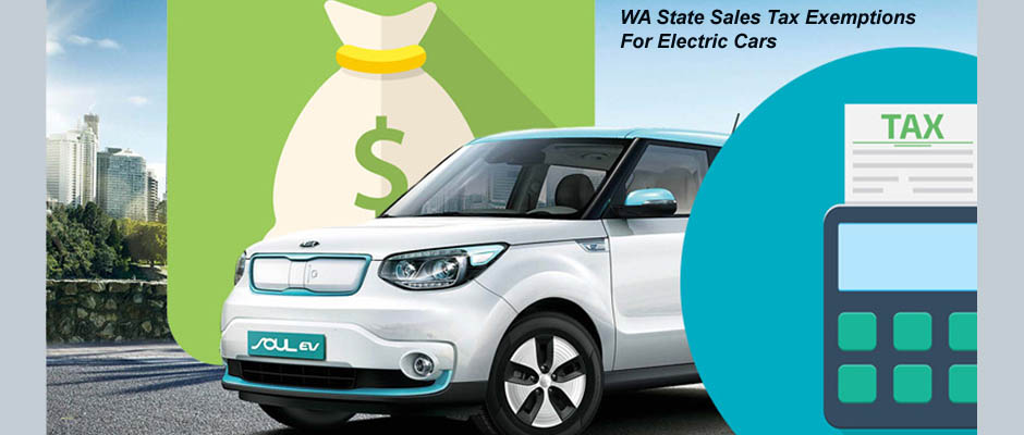 Img of WA State Sales Tax Exemption for EVS
