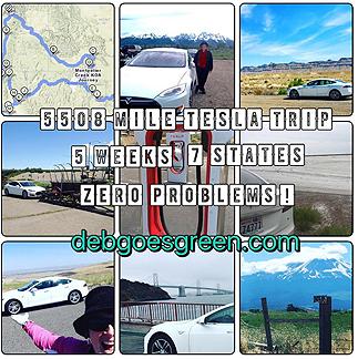Image of Deb Seymour's 2016 Tesla Road Trip