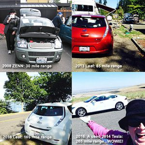 Image of Deb Seymour & Electric Cars