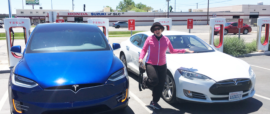 Image of Tesla Model X and Model S