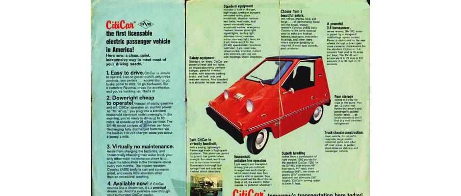 Image of 1975 Vanguard Citicar Advertisment