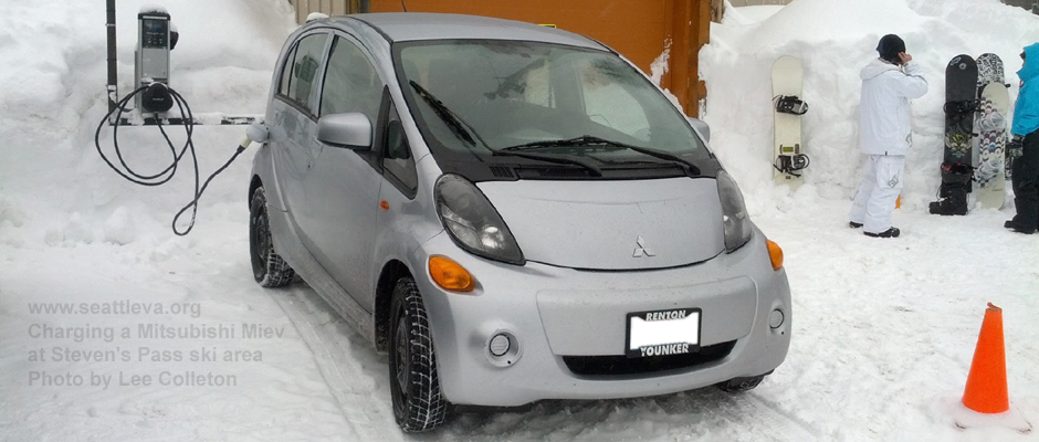 Image of MIEV in Snow