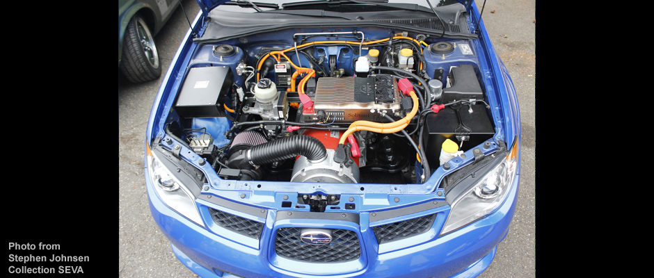 Img of an Electric Subaru EV Conversion